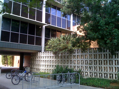 This used to be my playground. The engineering building at CSUN.