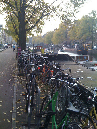 Mass transportation in Amsterdam