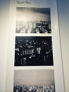 Visited a gallery featuring my friend, Sean Yeo. Some nice pictures there, but disappointed with the size of the prints.