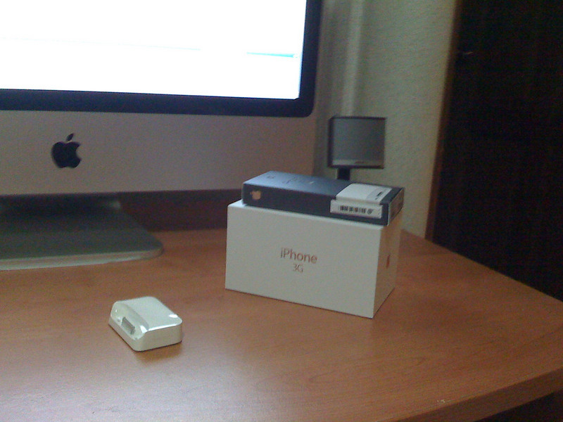 1st iphone pic of my work desk at home
