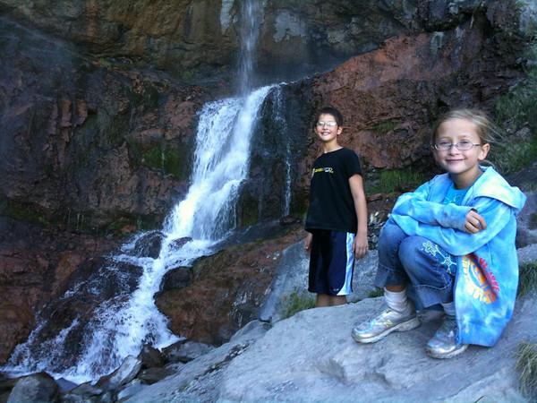 Annual family hike to Stuart Falls