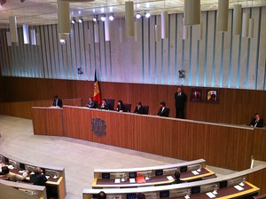 Andorra's parliament in session