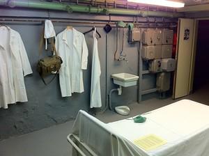 Prague bomb shelter