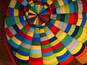 One of my many firsts in South Africa was my first hot air balloon flight