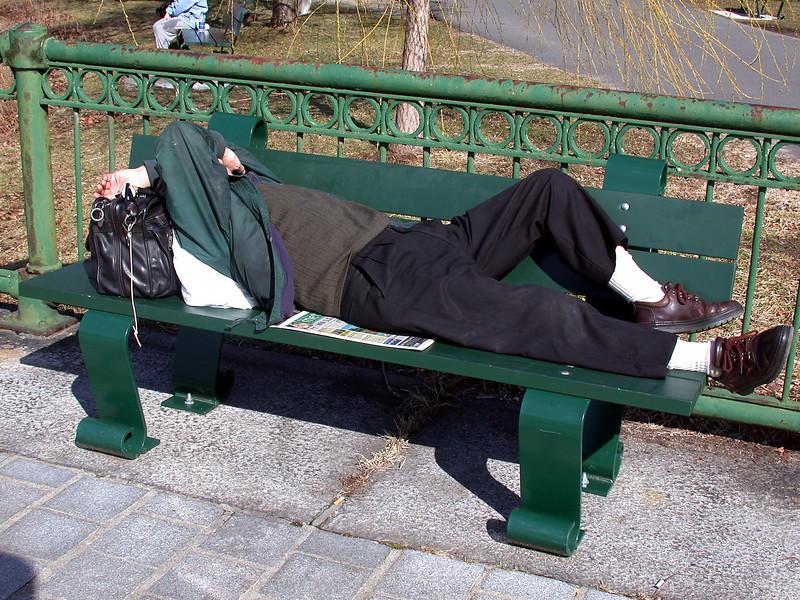 Bench Nap.