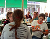 And other guests at Cafe Du Monde.