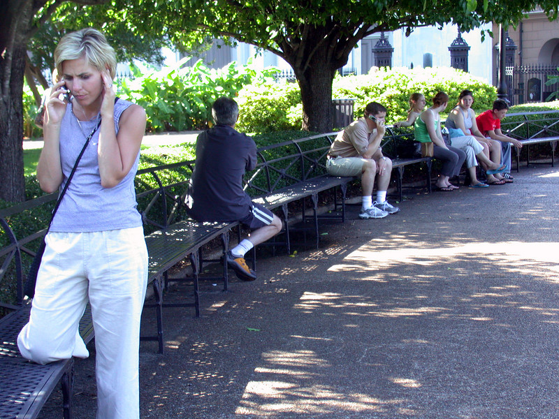 Jackson Square park.