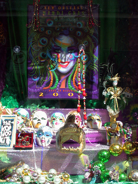 Mardi Gras and Voodoo.