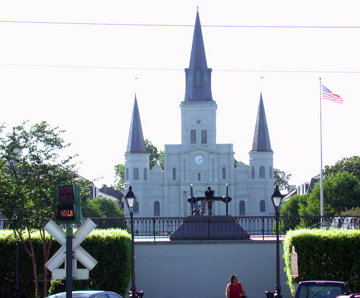 Church on Jackson Square.