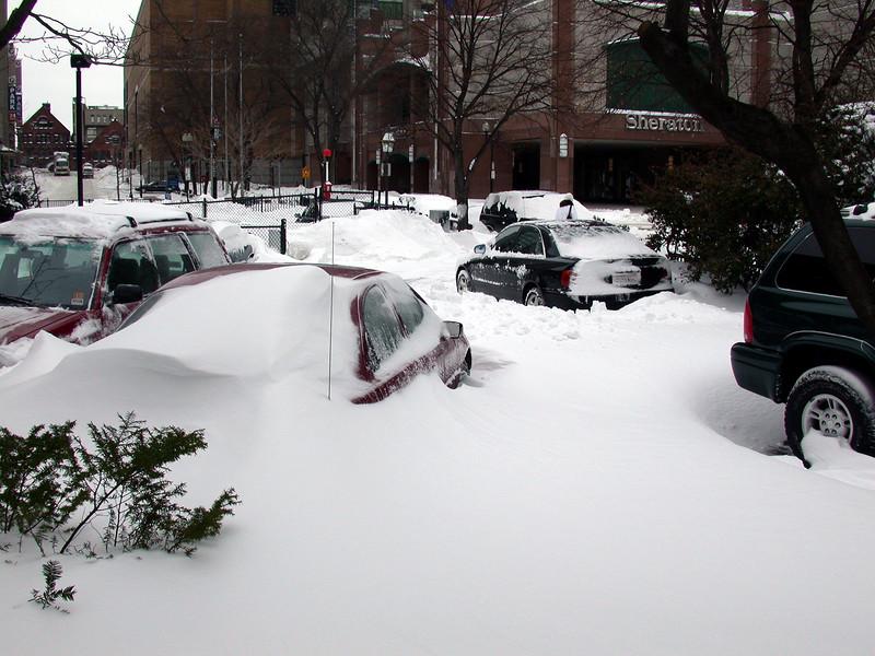 St. Germain Str. Parking lot.