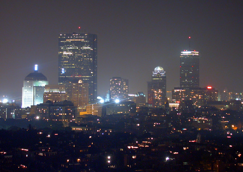 Skyline of Back Bay.