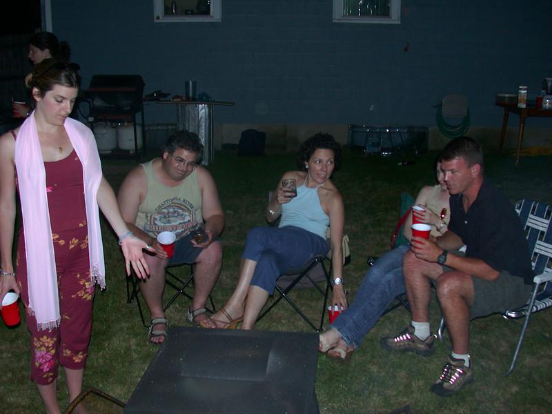 At the campfire (3).