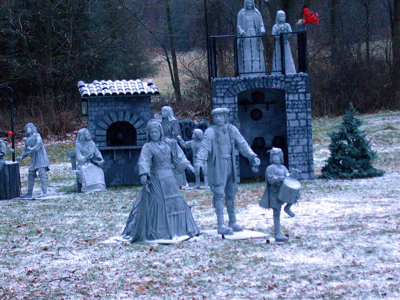 Outdoors nativity scene 2.