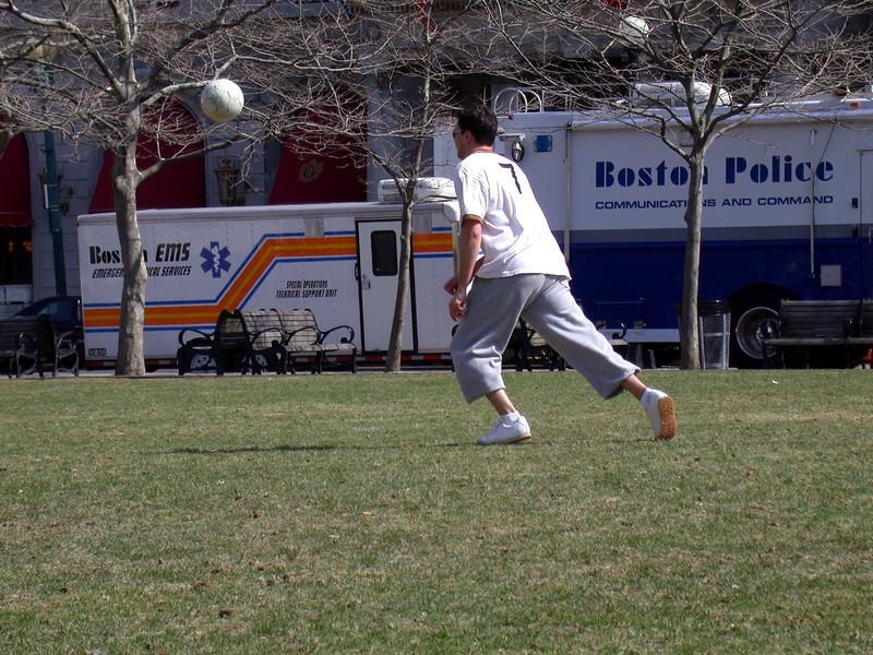 Soccer at Copley Sq.
