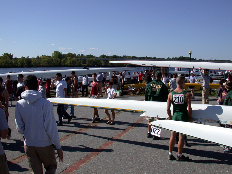 Textile River Rowing Races in Lowell.