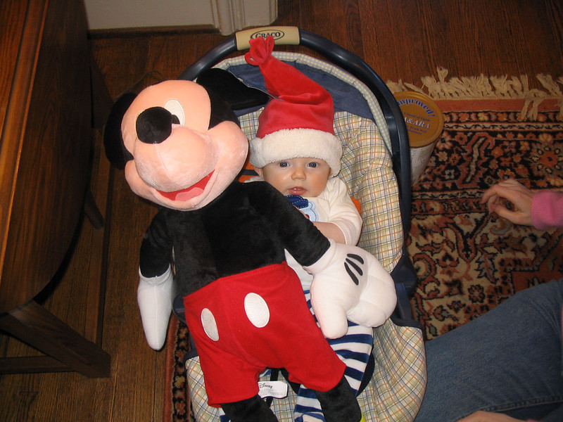 mickey and kid