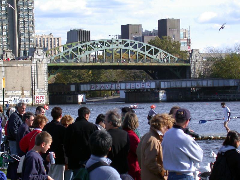View on the MIT bridge.
