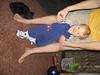 Kid standing in tennies