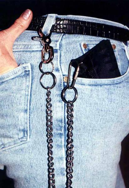 black kk belt chain
