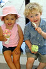 jack and olivia eating ice cream
