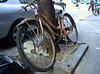 Old bike.