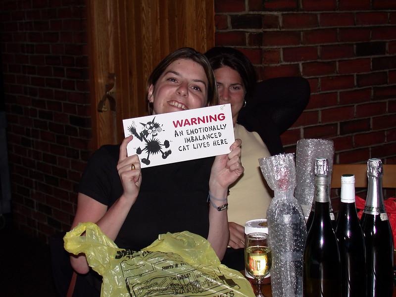 Fair warning!