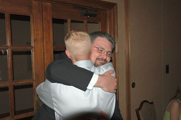 male hug