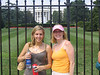Karin and I by white house