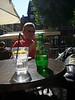 Stilleben mit Perrier immer noch Straßburg