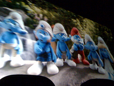 Smurf 3D (Richmond,VA-August 2011)