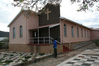 """The church in the """"colored"""" area of Graaff Reinet"""