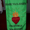 South Africa is a country of many languages.  Here, a banner in Afrikaans hangs at the front of one of the churches.