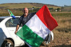 World Cup fever has spread across South Africa.  Fr. Sandro, an Italian by birth, shows who he will be cheering for.