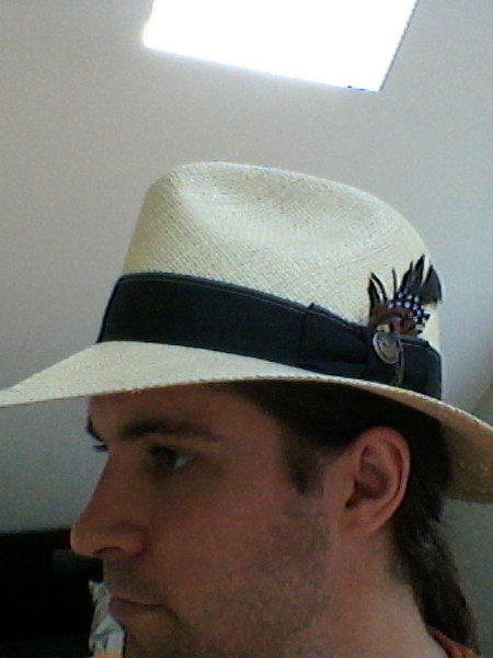 my new Panama hat