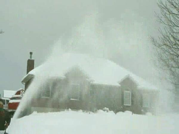 Snow Blower & Lisa 2-9-10