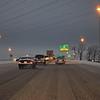 North leg of I-240 around 7:00am.