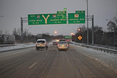 I-240 near downtown.
