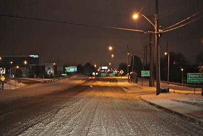 Poplar Ave near I-240 around 6:30am.