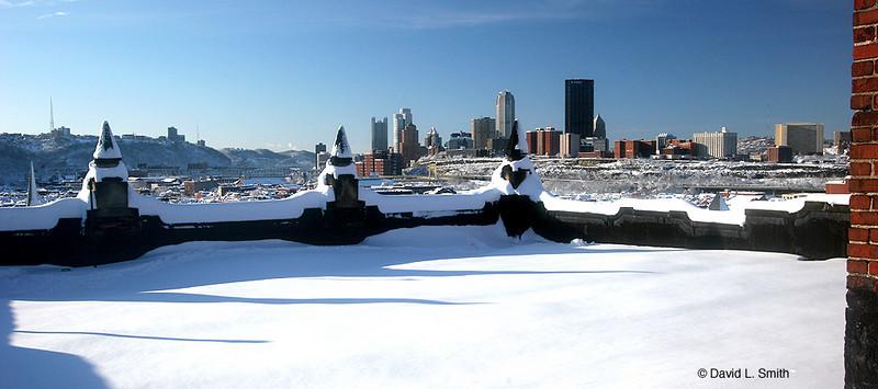 Snow, Pittsburgh Feb. 6, 2010