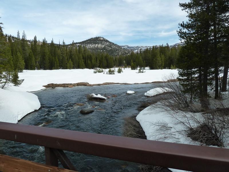 JMT/PCT bridge at Devils Postpile