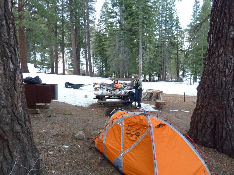 Devils Postpile campground