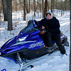 Matt taking a break - St. Croix State Park