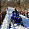 Matt enjoying a great day of riding - St. Croix State Park