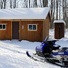 Great cabin get-away north of Milaca on the trail.
