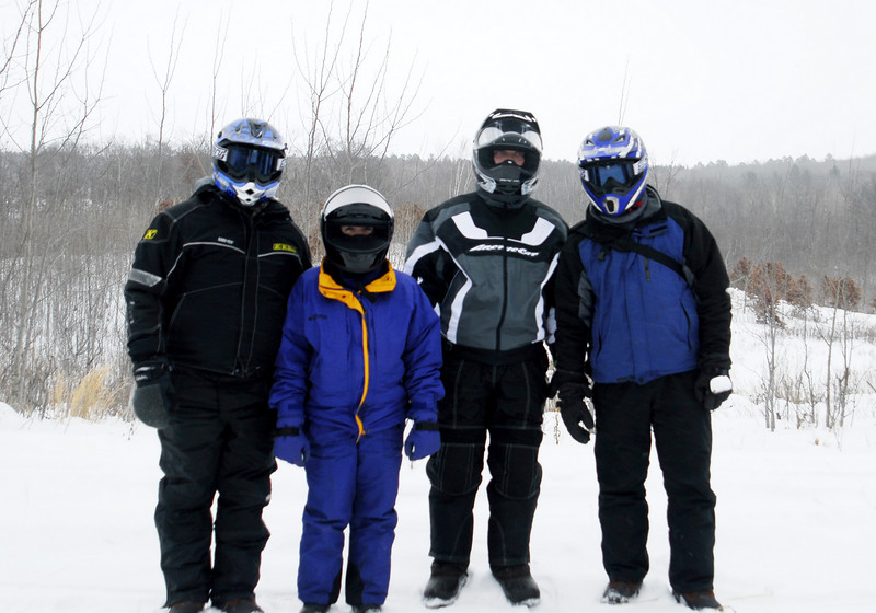 Staying warm on the trail- Brainerd, MN