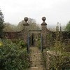 View down through the garden all it needs is a White Rabbit and a pocket watch