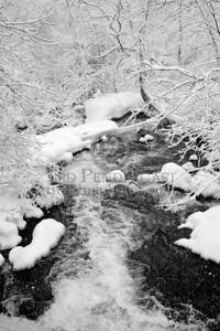 Beaver Brook Falls, Belmont Massachusetts -- Images shot in and around Belmont Massachusetts during a snowstorm that occurred on Sunday, December 21, 2008