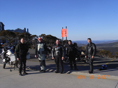 From left is Tim, Flo, Chappy, Doug and Guzzi.