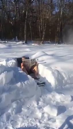 Snowy winter 2015