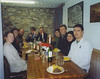 Burns supper in Chester MC hut in Llanberis, Wales